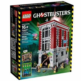 Lego Ghostbusters Firehouse 75827 Brand New and Sealed PERFECT ITEM