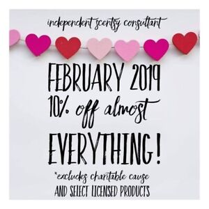 Scentsy 10% Off Sale