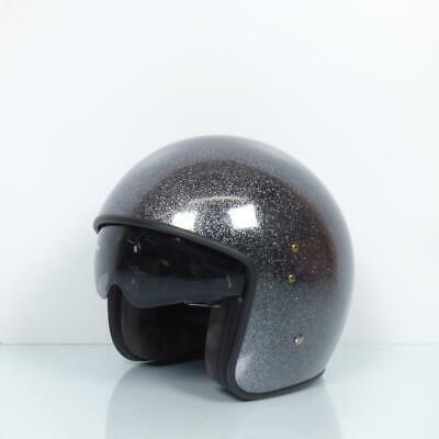 Helmet UP Motorrad UP Size S Smart glitter black New