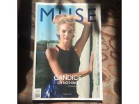 Muse Fashion Magazine with Candice S. 2012 Summer, Unique Issue, Perfect condition.