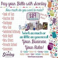 scentsy - start earning an extra income every month