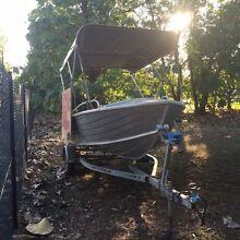 Quintrex trevally 4m tinnie for sale Jingili Darwin City Preview