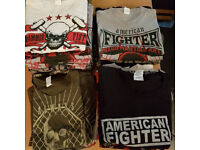 BRAND NEW t shirts summer fight bargain gym boxing mma martial arts muay thai karate contact sport