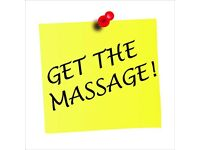 Get The Massage! Swedish massage or ASMR massage for deep relaxation and a sense of well-being