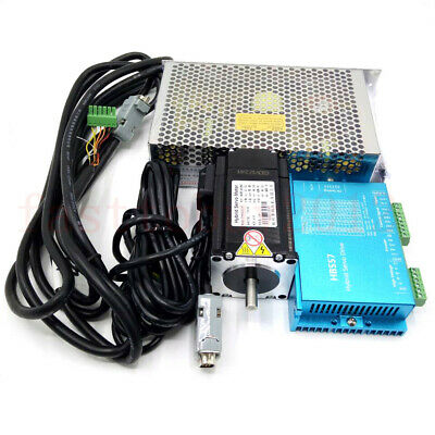 Nema23 Closed-loop Stepper Motor 2.2nm Hybrid Servo Driver Kit 36v Power Supply
