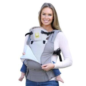175f980b7f4 Lillebaby Complete Baby Carrier All Seasons in Stone 100 Cotton 3 D Mesh