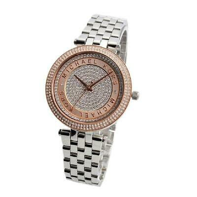 Michael Kors MK3446 Mini Darci Two Tone Wrist Watch for Women