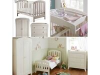 Mamas and Papas - Fern Nursery Furniture Set (In Good Condition)