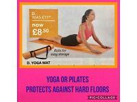 Sale Yoga Mat & Medicine Ball