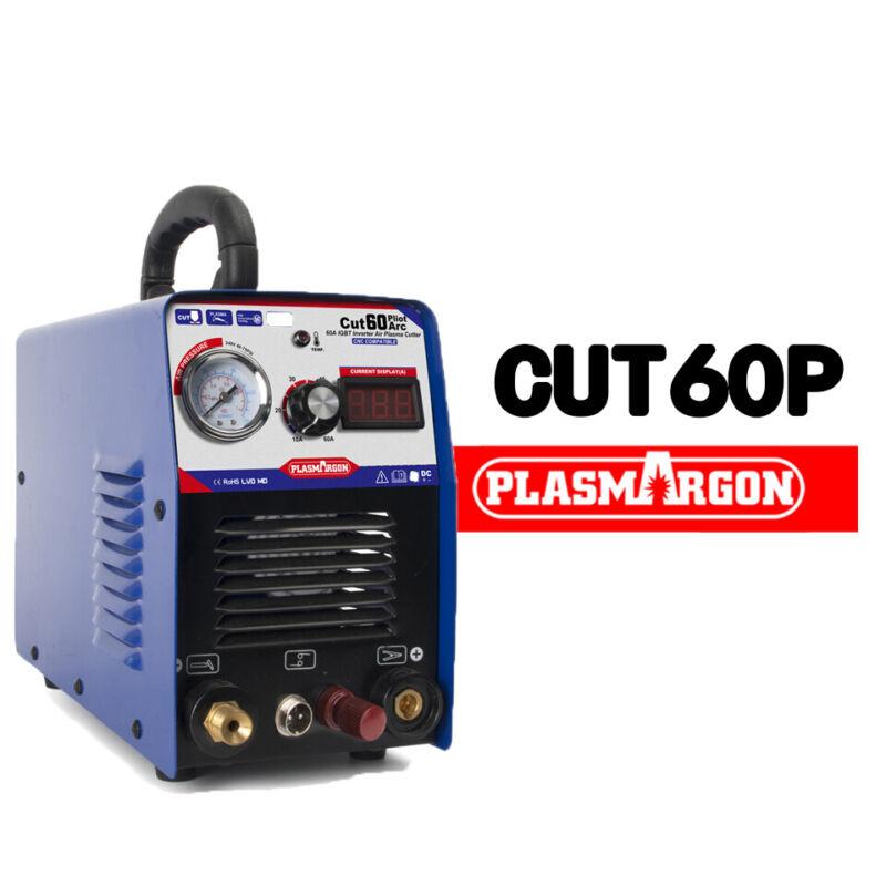 60A AIR PLASMA CUTTERS & P80 Torch Plasma Cutting Non-Touch PILOT ARC 110/220V