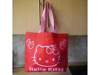 Hello Kitty children's bag, brand new, ideal for christmas