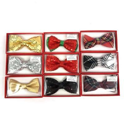 Christmas Party Wedding PreTied Clip on Bow Tie for Toddler new born Baby Child ](Christmas Bow Tie)
