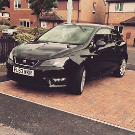 Seat Ibiza FR Black 63 plate
