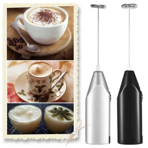 Electric Milk Frother Drink Foamer Whisk Mixer Stirrer Coffee Eggbeater Kitchen Coffee, Tea & Espresso Makers