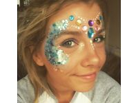 Festival Glitter Makeup - Weddings, Events, Festivals, Partys