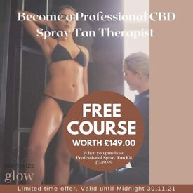 BECOME A PROFESSIONAL SPRAY TAN THERAPIST!