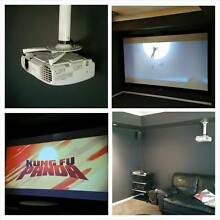 Projector + Projector Screen Setup $550.00 (installation only) Thornton Maitland Area Preview