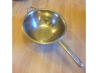 Stainless steel colander sieve kitchen