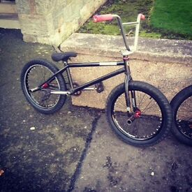 Breaking BMX for parts!