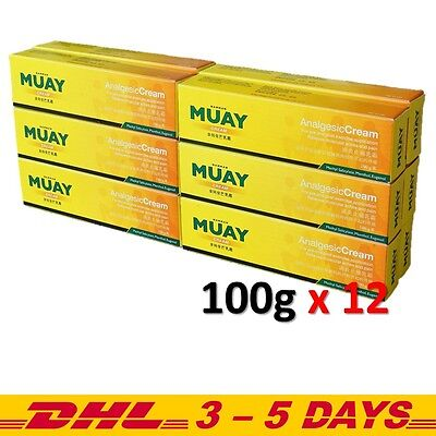 Namman Muay Thai Balm Boxing Cream Creme Analgesic Massage Pain Relief 100 g x12