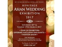 Voultary Models Needed For Asian Wedding Exhibition in Manchester