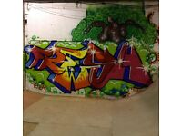 GRAFFITI ARTIST looking for commissions
