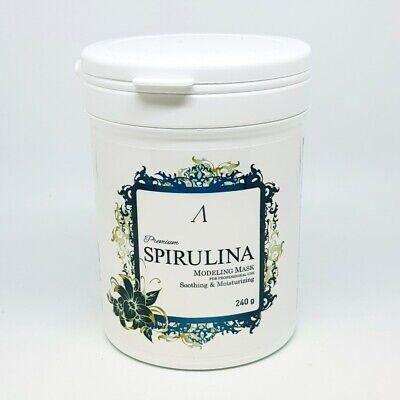 Anskin Premium Spirulina Modeling Mask Pack 240g Sooting Moisturizing K-Beauty