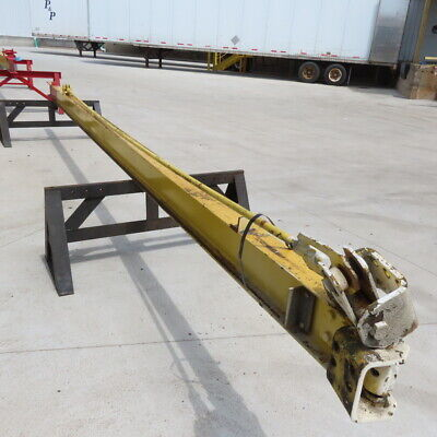 1000lb 12ton Cap. Wall-mount Overbraced Tie-rod Jib Crane 239 Swing