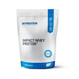 MyProtein unflavoured whey protein 1kg