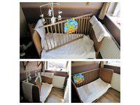 Cot Bed, Mattress, bedding & more!