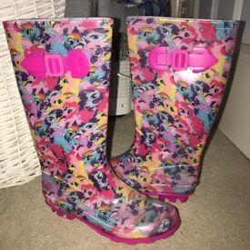 My Little Pony Wellington/Welly/Wellies Boots!