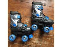 Children's adjustable roller skates from size 11-13