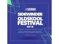Old Skool sidewinder festival tickets