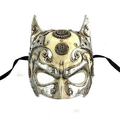 Antik Silber Batman Herren Masquerade Mask Cosplay Kostüm Party Maske