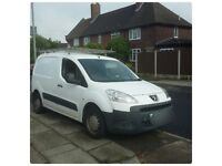 Peugeot partner van.very good condition. Only 2 owners.ono or swap for car