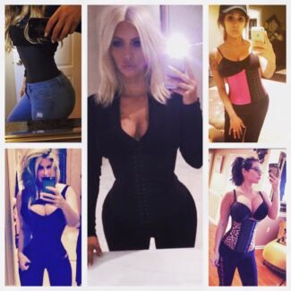 50% OFF Latex Black Waist Trainers XS-8XL Lose Inches Instantly Adelaide Region Preview