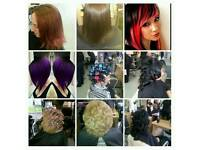 Mobile hairdresser/extensions
