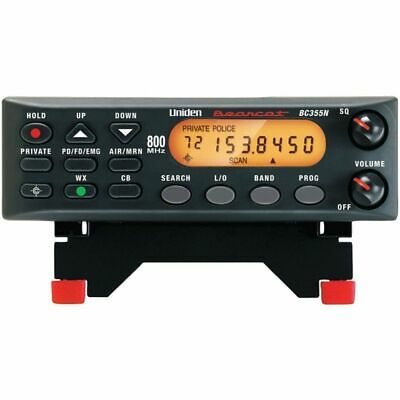 Uniden BC355N 800MHz Compact Base/Mobile Police Scanner Bearcat Narrow Band