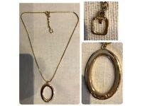 Christian Dior Pendant Necklace Designer Jewelry