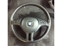 2001 BMW E46 Compact Steering wheel with multifunction and airbag