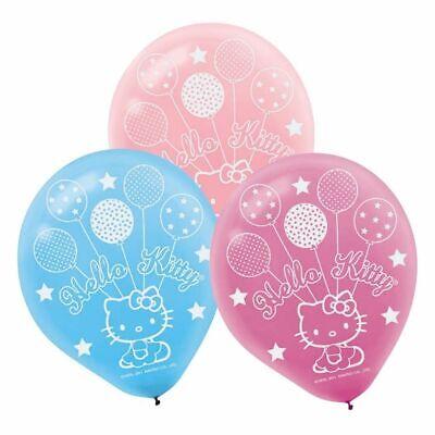 Hello Kitty Party Decoration (Sanrio Hello Kitty Latex Balloons Party Supplies Decorations 12