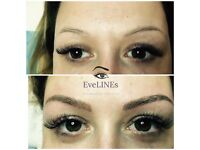 Permanent eyebrow makeup Easter offer £99!