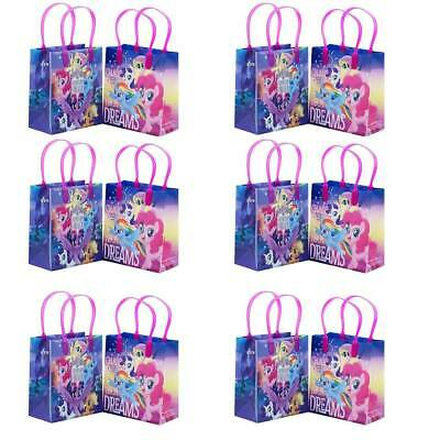My Little Pony Goody Bags Birthday Party Favors Gift Loot Bags - My Little Pony Birthday Favors