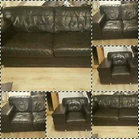 Black dfs sofa