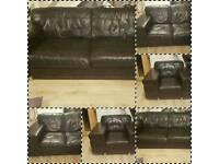 Black dfs sofa