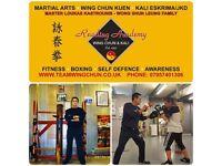 Loukas Kastrounis -Reading Academy wing chun & Kali Eskrima /JKD in Berskhire