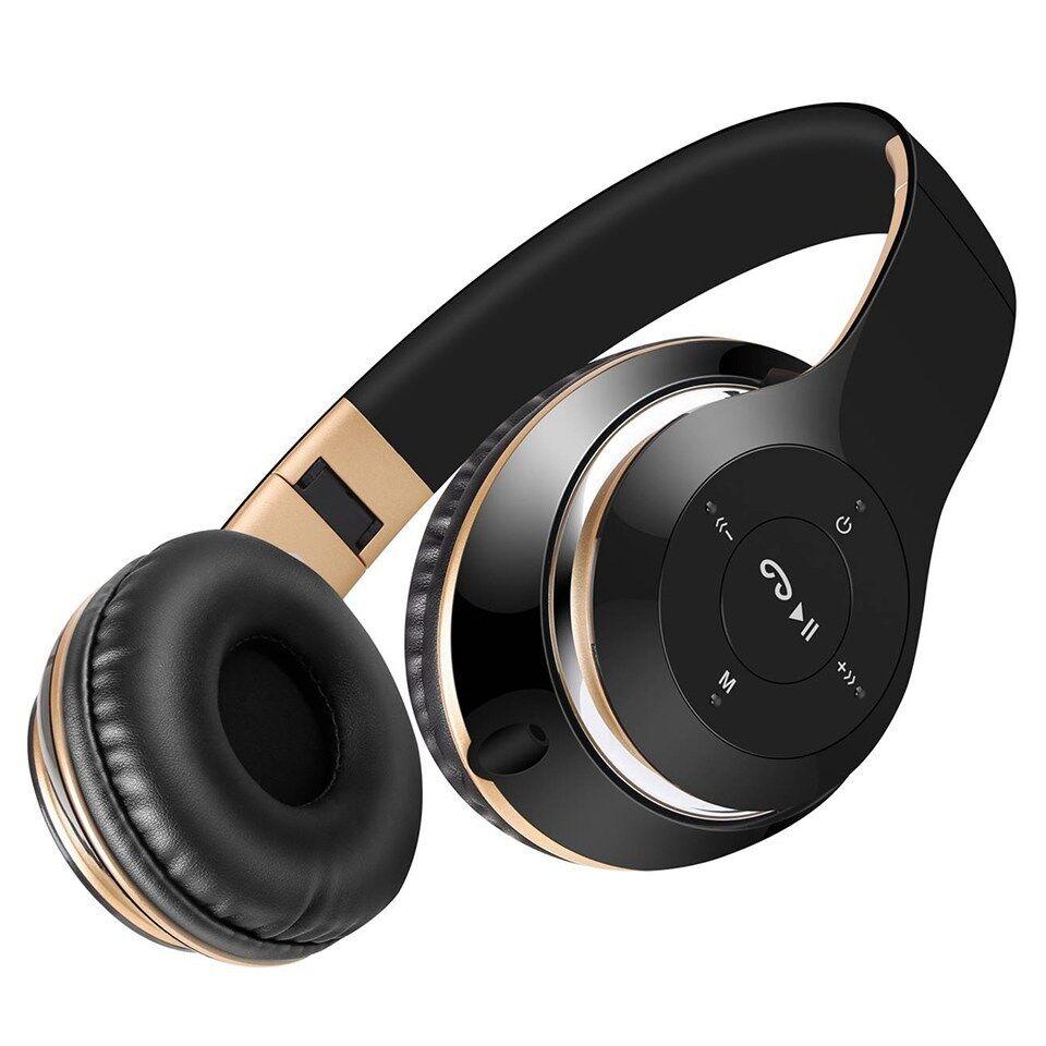 BT-09 Wireless Bluetooth Headphones Foldable Headset Stereo Heavy Bass Earphones