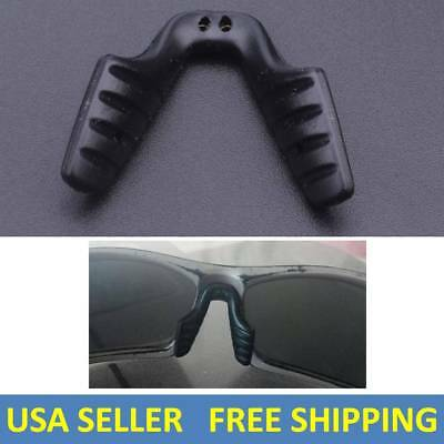 1x Silicone Anti-Slip Saddle Bridge Nose Pads for Eyeglass Sunglasses Glasses (Eyeglasses Nose Bridge)