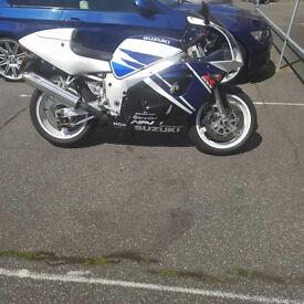GSXR SRAD 600cc