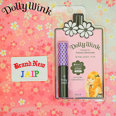 KOJI☆Japan-Dolly Wink False Eyelash Fix Glue Adhesive Black,JAIP